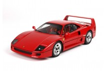 1/18th BBR Ferrari F40 Red with Sliding Lexan Window