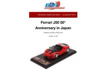 1/43th BBR Ferrari J50 Japan