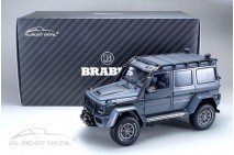 1/18th Almost Real Brabus 550 Adventure Mercedes 4x4 Metallic Grey