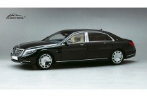 1/18 Almost Real Mercedes Maybach S-Class 2016 Obsidian Black