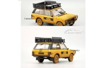 "1/18th Almost Real Range Rover ""Camel Trophy"" Sumatra 1981 Dirty Version"