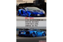 1/18th Davis Giovanni LB Aventador 2.0 Candy Blue AZR