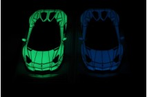 1/18th Davis Giovanni Liberty Walk Aventador Roadster Luminous Green/Blue Set