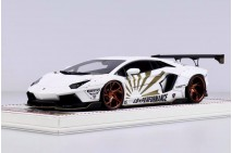 1/18th Davis Giovanni Liberty Walk Aventador Zero Fighter Matt White