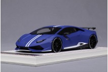 1/18th Davis Giovanni Novitec Huracan N-Largo Avio Edition Matt Blue