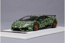1/18th Davis Giovanni Novitec Huracan N-Largo Bathing Ape Matt Green