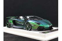 1/18th Davis Giovanni Liberty Walk LB LP700 Roadster Chameleon Green 002
