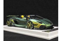 1/18th Davis Giovanni Liberty Walk LB LP700 Roadster Chameleon Green 004