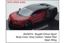 1/18th MR Bugatti Chiron Sport with Open Wing Version