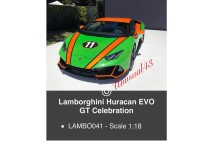 1/18th MR Lamborghini Huracan EVO GT Celebration