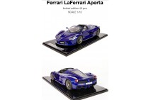 1/12 BBR Ferrari LaFerrari Aperta in Blu Tour De France