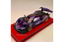 1/18 Apollo IE in Chameleon Purple/Gold Wheel limited 50pcs by Peako model