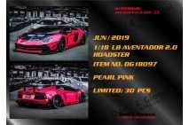 1/18 D&G LB Aventador 2.0 Roadster in selected colours
