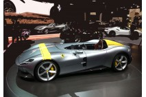 1/18 BBR Ferrari SP1 Metal Grey and SP1 Black