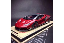 1/18 Lamborghini Centenario Carbon Red Special Edition Limited 50pcs by MR Model