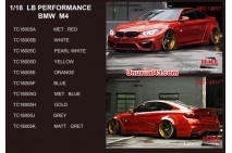 1/18 LB Performance BMW M4 by Track Collection.