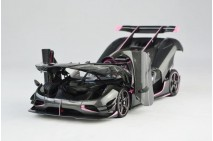 1/18th Frontiart Koenigsegg Agera One: 1 Carbon Pink Open Close