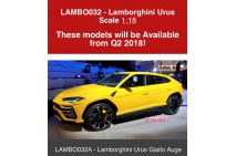 Pre-order 1/18 Lamborghini Urus by MR model