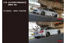 1/18th Track Collection Liberty Walk LB M4 Zero Fighter & White with Stripe